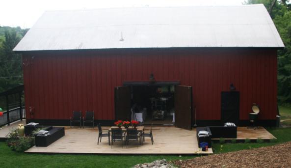 The Barn at Copake Lake - outside