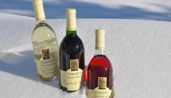 Tousey Winery wines