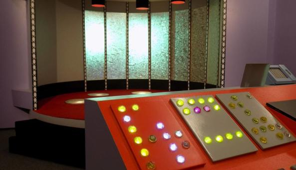 Transporter Pad and Operator Console