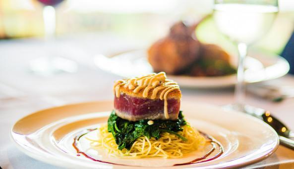 Brewster Inn Restaurant  Seared Ahi Tuna