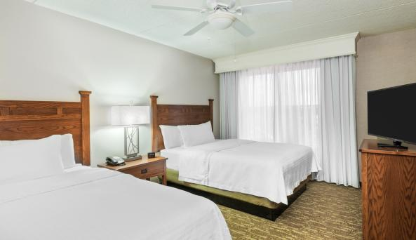 One Bedroom Suite With Two Queen Beds