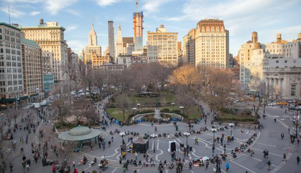 Union Square _ Photo by Christopher Postlewaite - Courtesy of NYC & CO