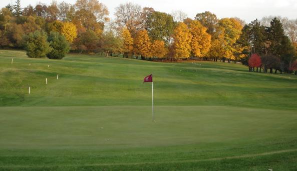 Vassar 5th hole