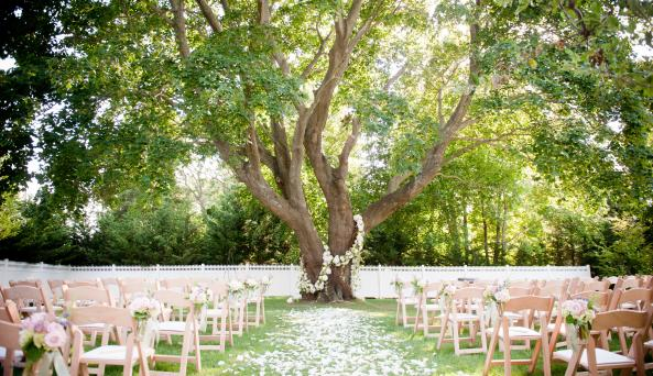 Wedding at Bedell Cellars - Cottage Orchard