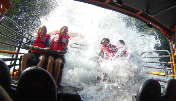 Wet Shot - Niagara Jet Adventures