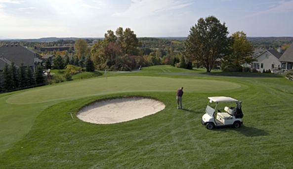 golf course at Woodcliff Hotel & Spa