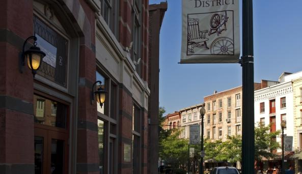 Downtown Troy - During