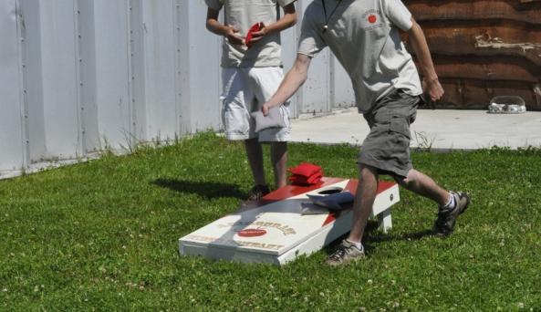 Lawn Games at Adirondack Cider Company