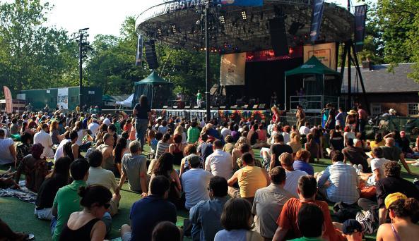 SummerStage in Central Park