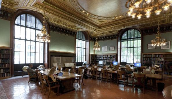 New York Public Library Steven A. Schwarzman Building interior