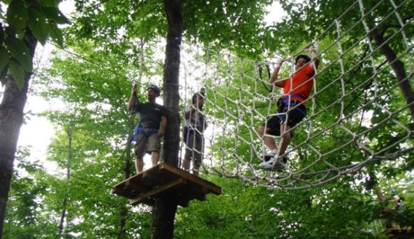 Aerial Zip Course