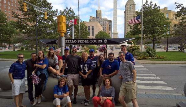 Buffalo Pedal Tours is a siuper fun way to learn about Buffalo's architecture and history