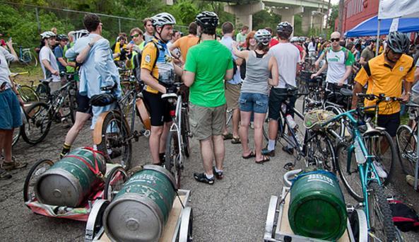 Bikes and Kegs