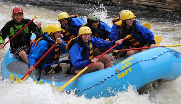 Group outings on the Black River
