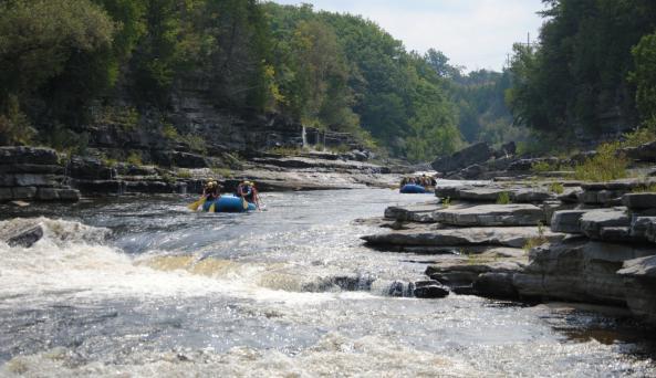 Black River Canyon Whitewater Rafting