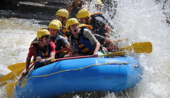 Black River Rafting in the Thousand Islands