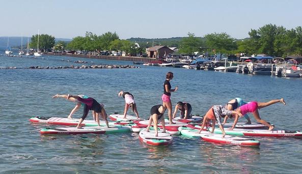 canandaigua-sailboarding-SUP-yoga