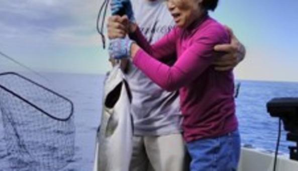 Seniors fishing