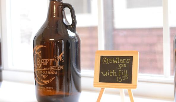 crafty-ales-and-lagers-phelps-interior-growler