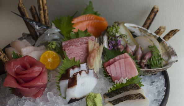 Chef's Sashimi Combination. credit: Danielle Del Re