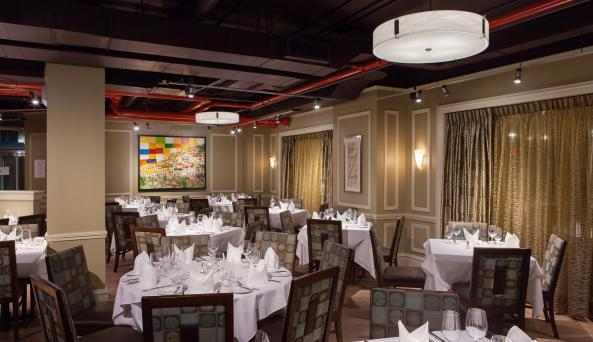 Davios northern italian steak house inside Hotel Boutique at Grand Central