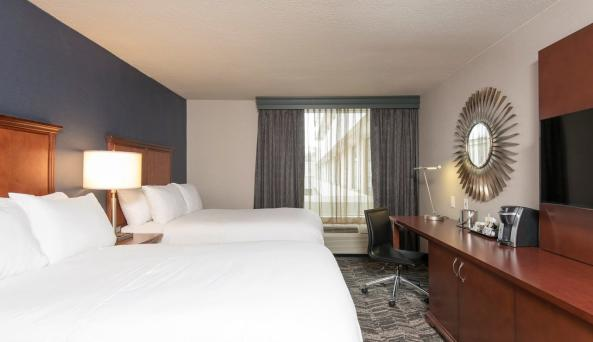 2 Double Beds at DoubleTree by Hilton