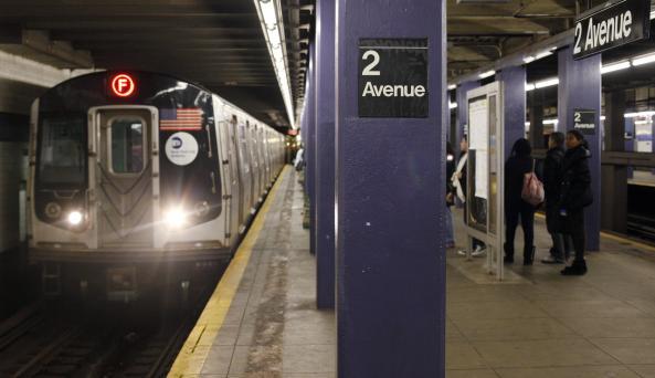 F Train - MTA Subway - Photo by Joe Buglewicz - Courtesy of NYC & Co