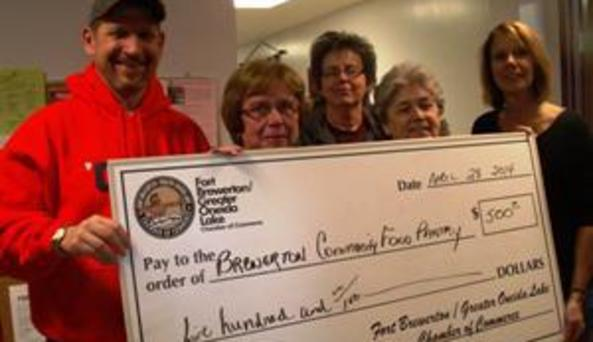 food pantry donation Brewerton Best 2014
