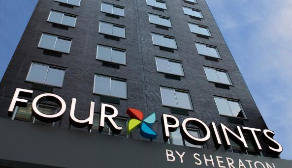Four points exterior
