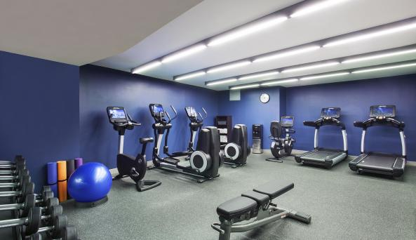 fitness center at Four Points by Sheraton New York Downtown
