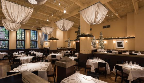 Gotham Bar & Grill, interior