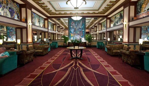 Hotel Edison, lobby