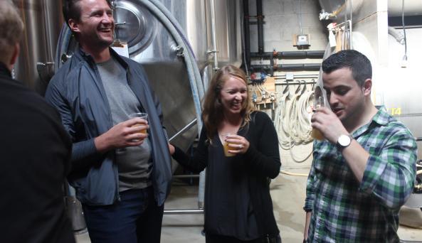 Craft beer tasting in Queens. *Photo Credit: Brett Kline