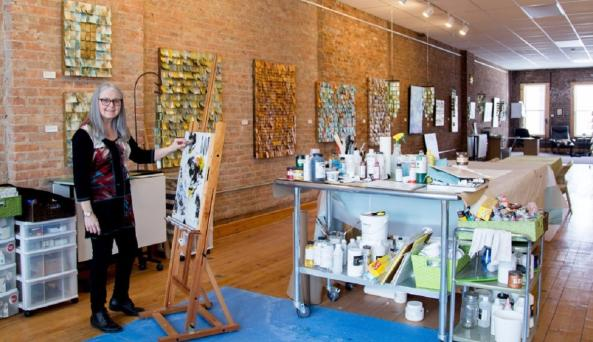 jeanne-beck-art-studio-and-gallery-canandaigua-interior