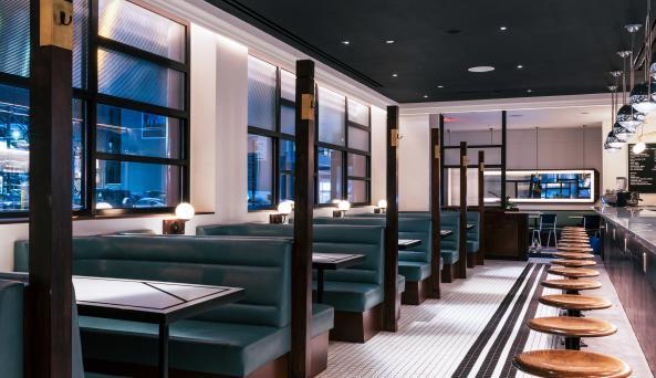 Interior of Nickel & Diner - photographed by Jonah Rosenberg