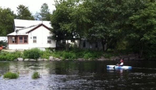 kayaking at Brown's