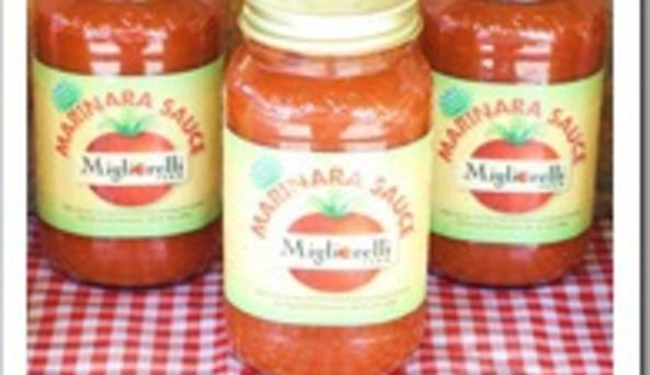 Rhinebeck Farmers Market - Migliorelli sauce