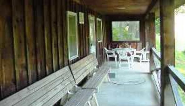 Harris Lodging Porch