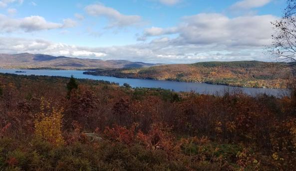 Prospect Mountian Veterans Highway ~ Fall