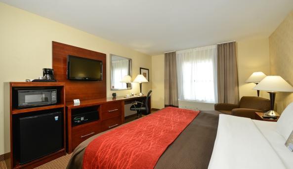 Comfort Inn & Suites AkwesasneRoom