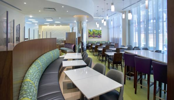 SpringHill Suites Midtown, cafe