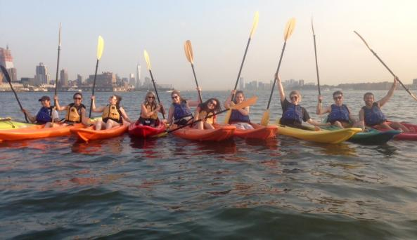 NY After Dark Kayak Tour