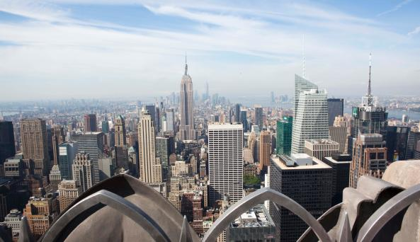 Top of the Rock Observation Deck, empire state buildin