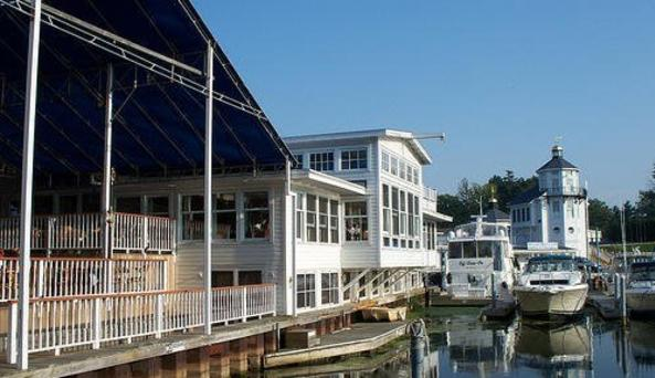 Wilson Boat House, photo courtesy of Visit Buffalo Niagara