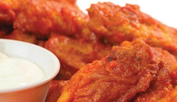Uncle Tony's wings