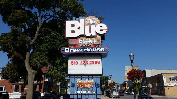 Blue Elephant brew house