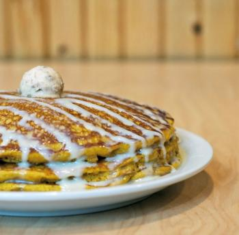 Sunny Street Cafe Pumpkin Spice Pancakes