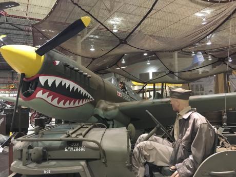Glenn Curtiss Museum Airplane