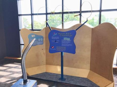 Science exhibit at the Rochester Museum & Science Center