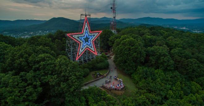 Roanoke Star Virginia